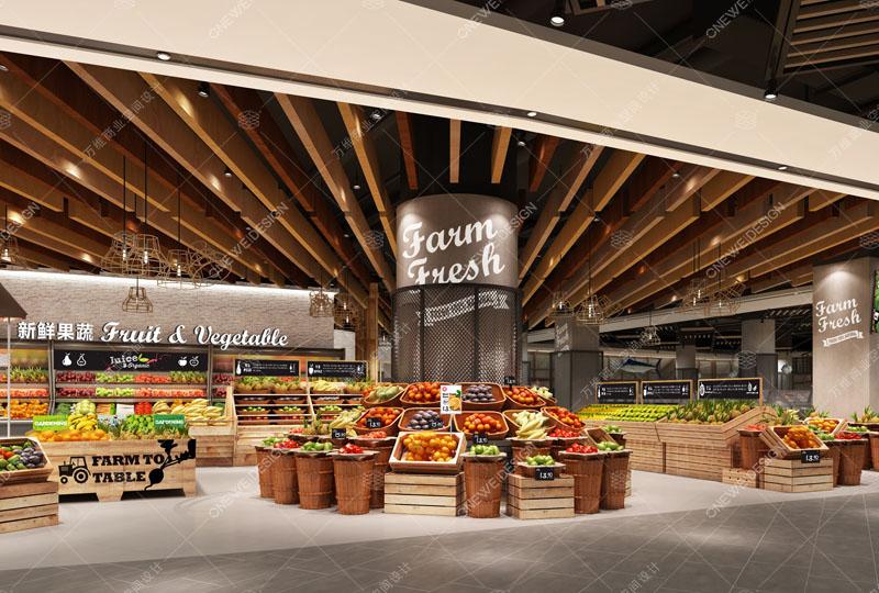 寿康永乐精品超市设计_万维商业空间设计