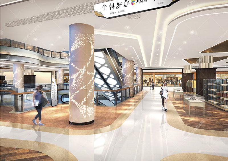 九立方购物中心设计_万维商业空间设计