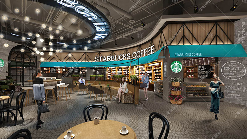 南益广场购物中心设计_万维商业空间设计