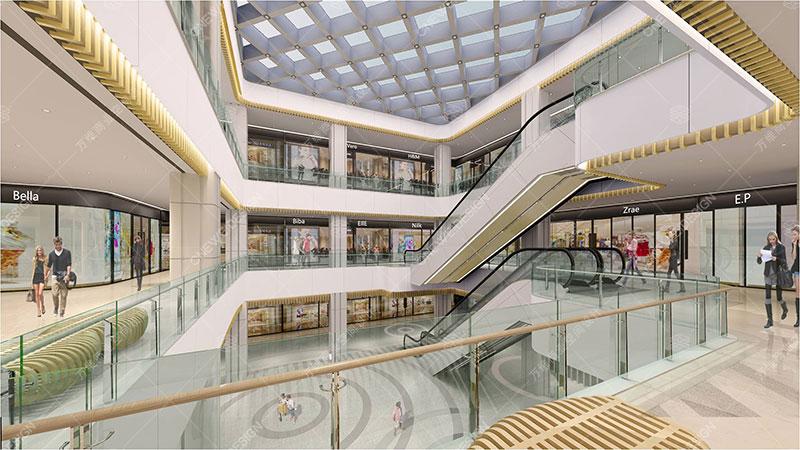 百盛购物中心设计_万维商业空间设计