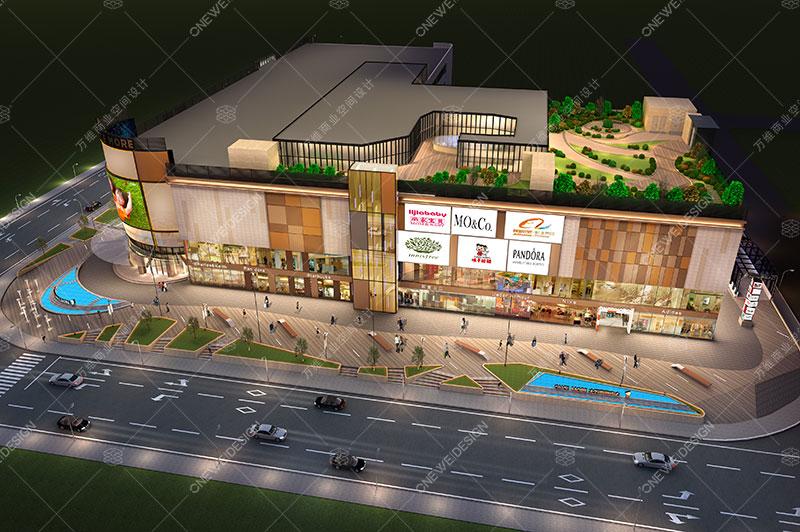 大万购物中心设计_万维商业空间设计