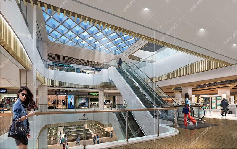 宁都奥园购物中心设计_万维商业空间设计