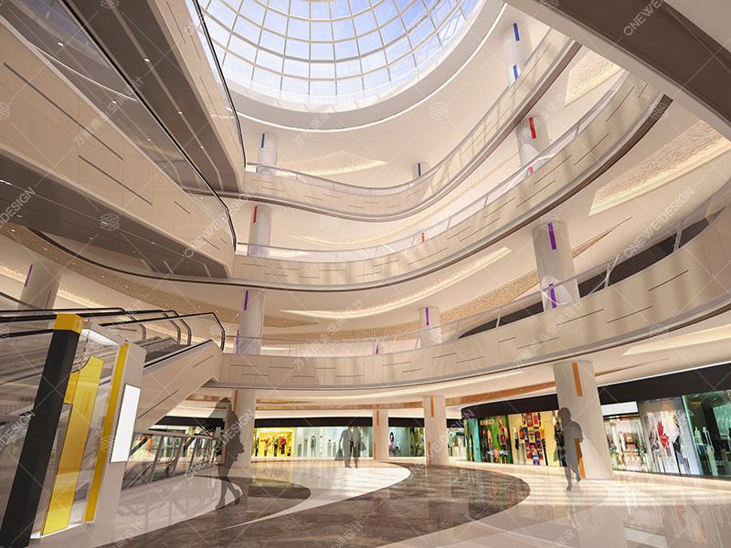 万维购物中心设计案例——北京大万购物中心
