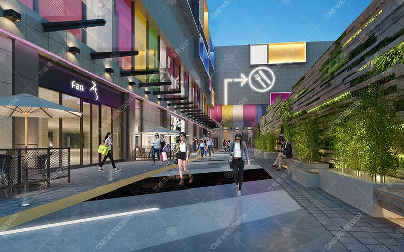 万维购物中心设计案例-北京大万购物中心
