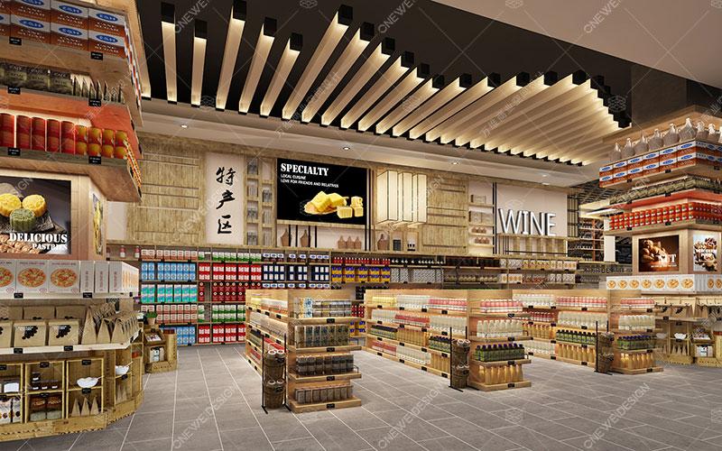 仁和春天超市设计