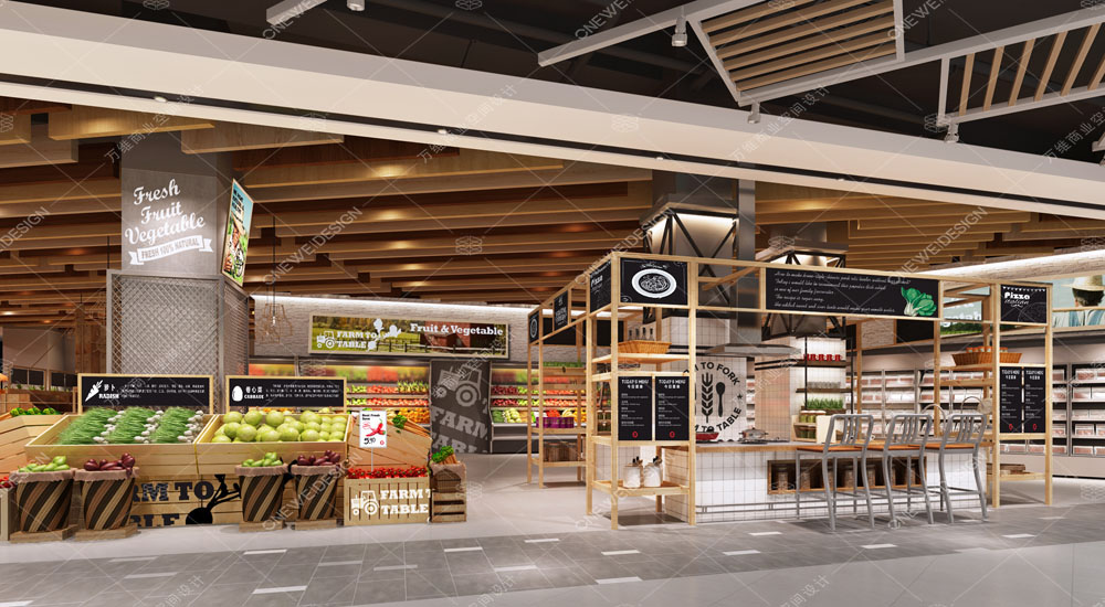 Shoukang Yongle supermarket design