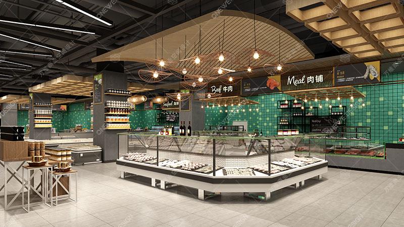 Lotus supermarket design