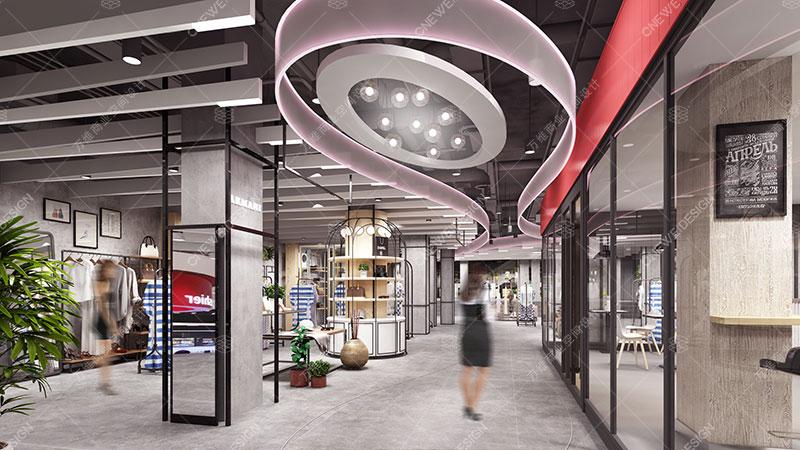 Shoukang Huayuecheng shopping mall design