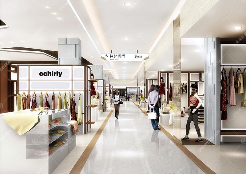 万维购物中心设计案例-九立方