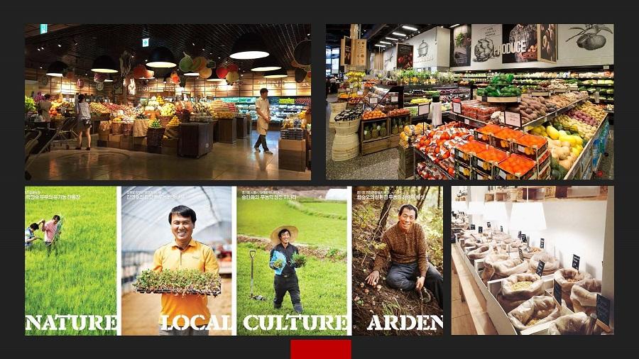 新华百货及物美超市概念设计