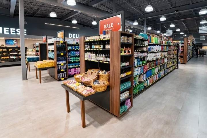 超市设计效果图