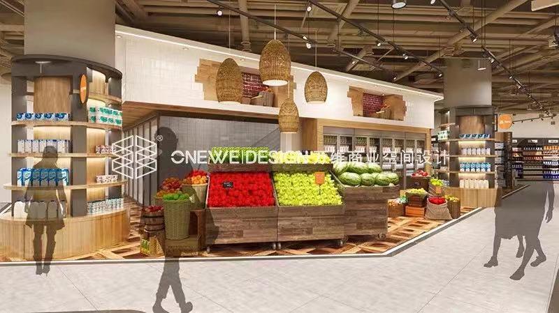 精品超市设计——布局
