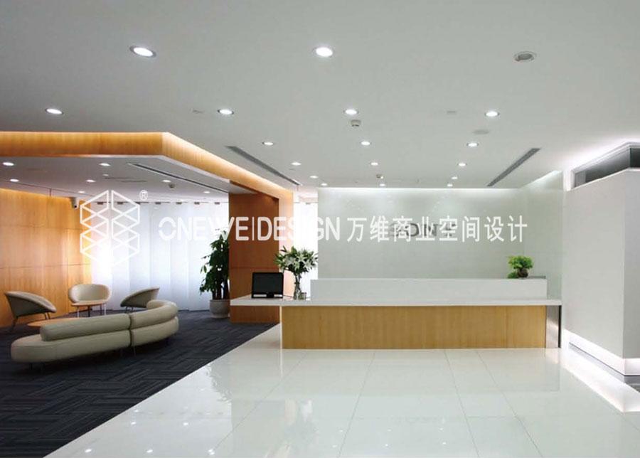 索尼冠城大厦北京总部办公空间设计_万维商业空间设计