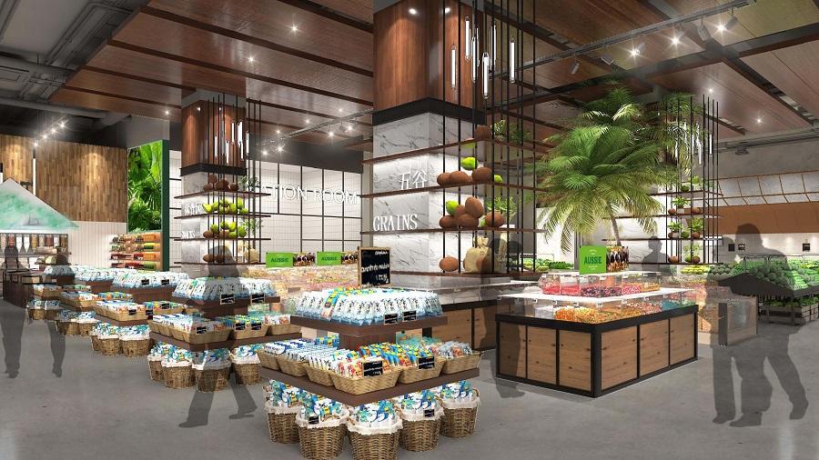 超市效果图设计