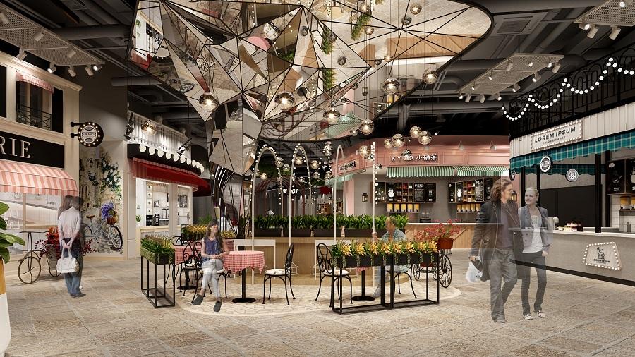 商业街设计方案四大要点原则
