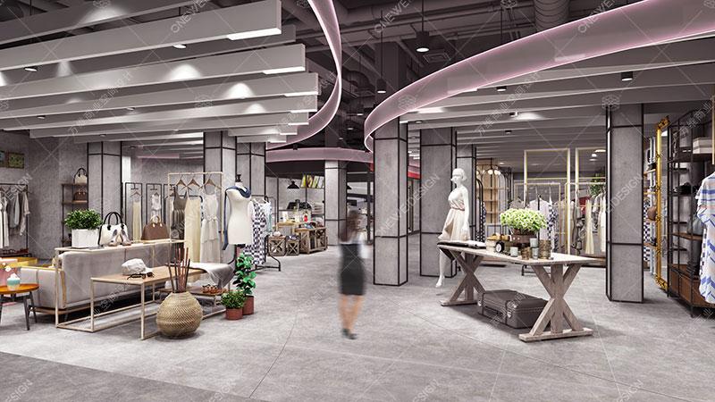 百货商场动线设计